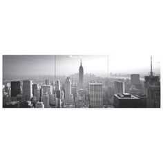 New York City Wall Decal Kit in Black and White  the new york apartment feel wouldnt be complete without a picture of new york  #DreamDormOCM