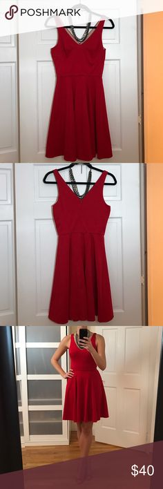 Guess by Marciano Red Marilyn Dress Size Small. Worn once and cleaned. Double lined Marilyn style red mini-dress. Classic and sexy! :) Guess by Marciano Dresses