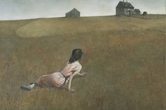 I always found this painting to be so evocative. A print of Christina's World has been in our house for years.