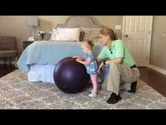 #100 Teach Your Child Standing and Walking Balance: Exercises for a Baby with Low Tone - YouTube