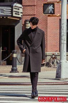 Coat and turtleneck. Park Hyung Sik, Korean Star, Korean Men, Asian Men, Asian Boys, Asian Actors, Korean Actors, Park Hyungsik Cute, Dramas