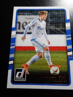 2016-17 Donruss Soccer #90 Johannes Geis FC Schalke 04 Card  #FCSchalke04