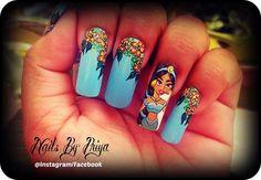 Disney Princess by priyaa - Nail Art Gallery nailartgallery.nailsmag.com by Nails Magazine www.nailsmag.com #nailart