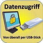 Datenzugriff von überall per USB-Stick auf den eigenen Rechner