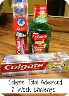 Colgate Total Advanced 2 Week Challenge #HappyHealthySmiles  #Cbias