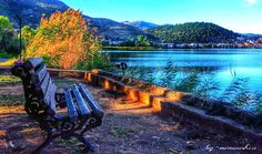 από τη σελίδα ΄Οταν χαράζει στο Αιγαίο Pitsa xoriatiki  Λίμνη Καστοριάς