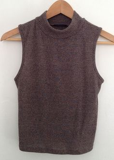 mock neck ribbed knit top 96% poly 4%spandex made in usa