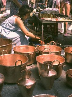 Copper Cookware Viking Copper Cookware Made In France Copper Decor, Copper Art, Copper Rose, Copper And Brass, Antique Copper, Rose Gold, Casseroles, Copper Kitchen, French Kitchen