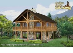 1000 images about cabin crawl space cellar ideas on for Log cabin with walkout basement