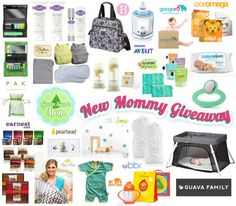 Wow! The GreenSceneMom and Guava Family #NewMommyGiveaway features more than $1,200 in amazing prizes! Please share and enter to win here!