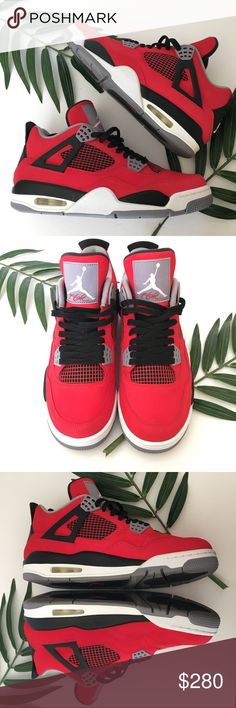 Air Jordan 4 Retro 'Toro Bravo' AUTHENTIC, Near DS. Worn for a couple hours. Will ship in original box. Please feel free to ask any questions or send me reasonable offers. Air Jordan Shoes Sneakers