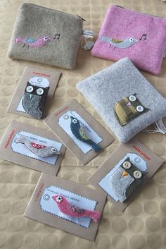 woolly purses