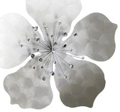 metal wall sculptures | StyleCraft Transitional Metal Flower Wall Art - STC-WI-42109-DS See ...