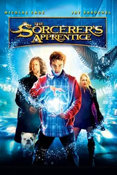 Nicolas Cage, Jay Baruchel, and Teresa Palmer in The Sorcerer's Apprentice Blu Ray Movies, All Movies, Hindi Movies, Great Movies, Movies To Watch, Movie Tv, Amazing Movies, Teen Movies, Family Movies