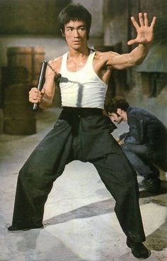 Bruce Lee in Way of The Dragon.
