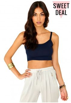Lorena Value Strappy Crop Top - Tops - Bralets and Crop Tops - Missguided