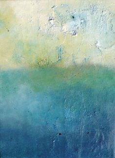 Abstract Art - blues and greens: