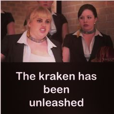 Fat Amy: the kraken has been unleashed Fat Amy Quotes, Rebel Wilson, Pitch Perfect, All Smiles, Book Show, Movie Quotes, Good Movies, Movies And Tv Shows, I Laughed