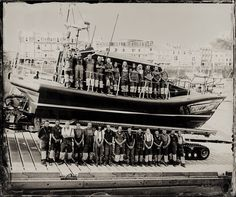 Ilfracombe RNLI Crew, pictured in June 2015 | The Lifeboat Station Project by Jack Lowe