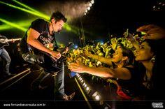 Foto do show da dupla Fernando e Sorocaba realizado em Mogi das Cruzes/SP no dia 06-12-2013