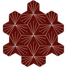 Moroccan Encaustic Cement Hexagonal Tile Artic-27-hex