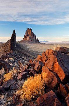 Been, will go back soon, hopefully. . . Shiprock Rock, New Mexico by Brad Mitchell