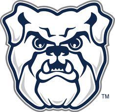 Butler Bulldogs Primary Logo (2015) - Butler University, University Logo, Laptop Stickers, Bumper Stickers, Butler Bulldogs, Bulldog Mascot, Bulldogs Team, Basketball Is Life, Butler Basketball