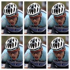 Nick Squillari @Tinea_Pedis Tony Martin uphill. Tony Martin downhill. Tony Martin on the flat. Tony Martin asleep #TDF pic.twitter.com/VlRVaCuHWw Cycling Memes, Pro Cycling, Tony Martin, Cycle Of Life, Bicycle Helmet, Tours, Flat, Twitter, Bass