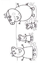 With this Peppa Pig picture to print and color. Peppa Pig picture to print and color. Find and print your favorite cartoon coloring pages and sheets in the Coloring Library free! Peppa Pig Coloring Pages, Family Coloring Pages, Cool Coloring Pages, Cartoon Coloring Pages, Free Printable Coloring Pages, Coloring Books, Peppa Pig Familie, Peppa Pig Pictures, Peppa Pig Printables