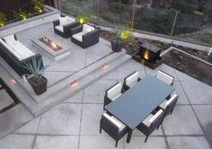 Back Patio, Outdoor Living, Concrete Backyard Landscaping Quality Living Landscape San Marcos, CA