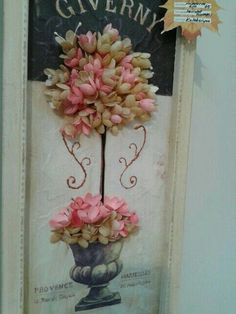 Koza cicek Paper Art, Paper Crafts, Paper Beads, Crochet Flowers, Paper Flowers, Jewelry Art, Floral Wreath, Projects To Try, Card Making
