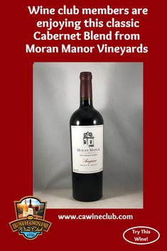 The California Wine Club features the 2007 Anagram Sonoma County Knights Valley Cabernet Blend by Moran Manor Vineyards, a Sonoma County winery established in Learn more about this winery. California Wine Club, Juicy Steak, Red Raspberry, Sonoma County, Cabernet Sauvignon, Wines, Red Wine, Vineyard, Alcoholic Drinks