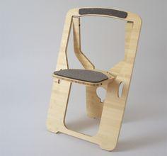 leo salom folding bamboo chair