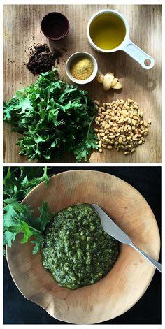 Easy Non-Dairy Cricket Protein Kale Pesto! Healthy Dinner Recipes, Vegetarian Recipes, Cooking Recipes, Protein Foods, Protein Recipes, Cricket Flour, Bug Snacks, Kale Pesto, Tasty