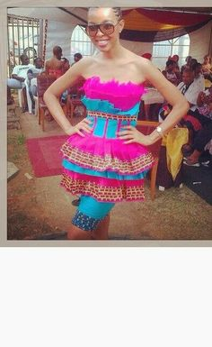 sepedi traditional dresses for womens 2014 African Attire, African Dress, Sepedi Traditional Dresses, Traditional Weddings, Fashion Models, Woman Fashion, African Colors, Nails Polish, African Wedding Dress
