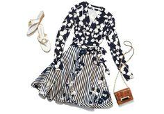 The Amelia Wrap Dress #JourneyofaDress