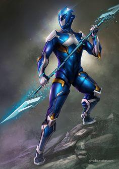 What if blue ranger