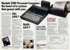 March 5 1981: Timex Sinclair ZX81 launched