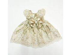 Vestido infantil de daminha de luxo dourado com tule bordado pérola liminha doce moda feminina-900x700.jpg (900×700)