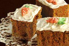 Gâteau aux carottes à trous