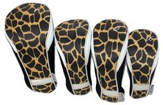 Check out what Loris Golf Shoppe has for your days on and off the golf course! Taboo Fashions Ladies 4-Pack Set Golf Club Headcovers - Safari