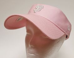 San Francisco Giants Pink Womens Sun Visor New ERA Adjustable One Size   sfgiants  NewEra  SanFranciscoGiants fa6bb8ec8be1