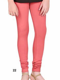 3f9b711c Buy Trendy XL Size Brink Pink 4 Way Cotton Leggings Online | www.olivoo.