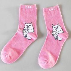 New Arrival Cotton Crew Socks Women Men of Cat Pattern Hip Hop Harajuku Sox Fixed Gear Street Tide Pop-Up Funny Nolvety