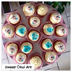 2015.03.27 - Cupcakes clémentines et top en Cheese cream à l'Orange