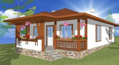 modele de case mici in stil italian - Yahoo Image Search Results Gazebo, Pergola, Mansions Homes, Village Houses, Romania, Home Goods, House Plans, Outdoor Structures, Traditional