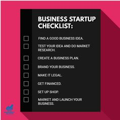 Find a good business idea Test your idea and do market research Create a business plan Brand your business Make it legal Get financed Set up shop and launch your business