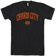 """I love that Baltimore is called """"Charm City."""" I bought this as a sleep shirt."""