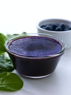 Sneaky Chef Purple Puree - blueberries & spinach - makes turkey burgers & even brownies more delicious!