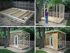 man cave shed plans - Brilliant Ideas For Man Cave Shed – Garden Design www. man cave shed plan Backyard Studio, Backyard Sheds, Outdoor Sheds, Backyard Office, Backyard House, Outdoor Gardens, Man Cave Shed Plans, Diy Shed Plans, Shed Ideas